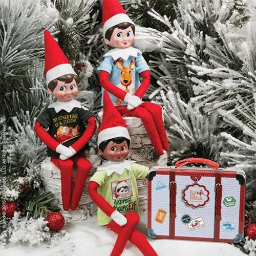 8bb3176b2 Elf On The Shelf Graphic Tee Multipack 3 Elf Sized T Shirts New Christmas:  Current ...